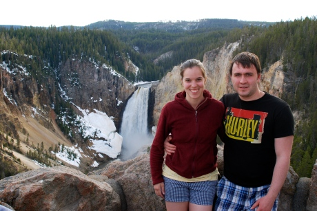 Yellowstone River Lower Falls // Do All Things WIth Love
