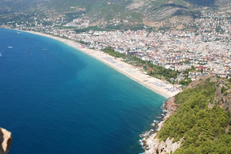 Alanya from above // Do All Things With Love
