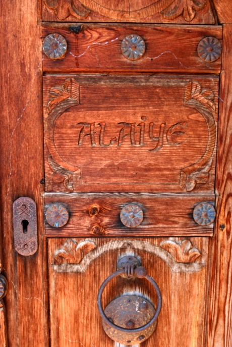 Door in Alanya Kalesi // Do All Things With Love