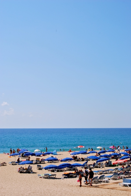 Alanya beach // Do All Things With Love
