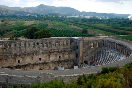 Aspendos theater // Do All Things With Love