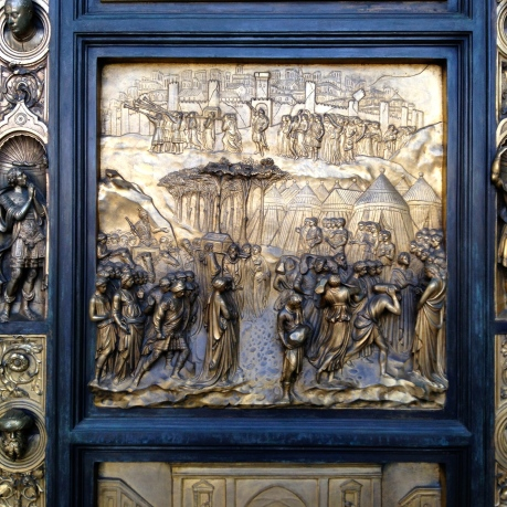 The Ghiberti Doors on the Grace Cathedral in San Francisco
