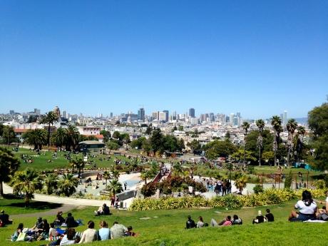 Mission Dolores Park in San Francisco