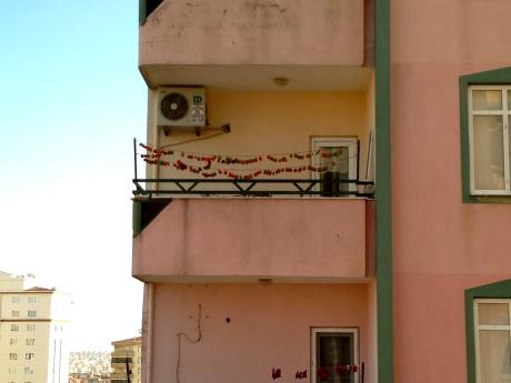 Türkçe balkon / Turkish balcony