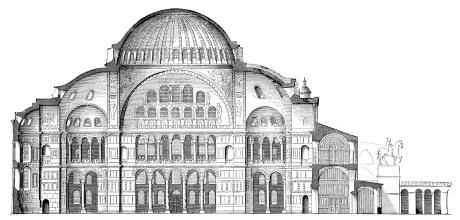 [Source: http://commons.wikimedia.org/wiki/File%3AHagia-Sophia-Laengsschnitt.jpg]