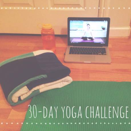 30-day Yoga Challenge // Do All Things With Love